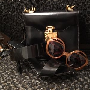 1962 Vintage Christian Dior Sunglasses Olive